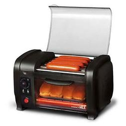 Maxi-Matic EHD-051B Hot Dog Toaster Oven, 30-Min Timer, Stai