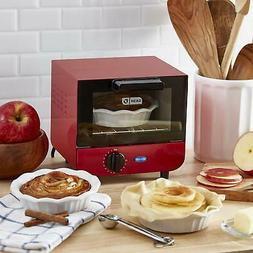 DASH Mini Toaster Oven Cooker, with Baking Tray, Rack, Auto