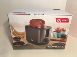 New Dash 2 Slice Wide Slot Easy Toaster Cool Touch Auto Shut