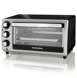 New Hamilton Beach 4-Slice Toaster Oven Model no. 31142