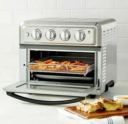 New! Cuisinart TOA-60 Air Fryer Toaster Oven, Silver