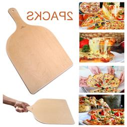 Pizza Spatula Peeler Paddle Board Cake Lifter Wooden for Ove