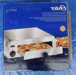 Oster Pizzeria-Style Countertop Pizza Oven, Stainless Steel