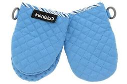 Cuisinart Quilted Mini Oven Mitts w/Silicone Easy Gripping,