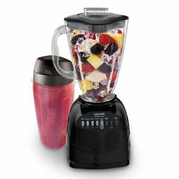 """Oster Simple Blend 100 10-Speed Blender with Blend and """"Go C"""