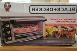 Black & Decker® TO3250XSB Extra-Wide Toaster Oven
