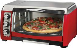 Hamilton Beach Toaster Oven 6-Slice Capacity Quick-Heating E