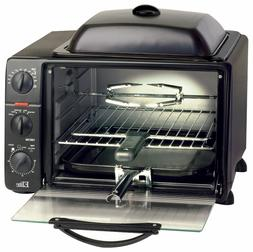 Toaster Oven Broiler 0.8 Cu Ft 60 Minute Timer Control Knob