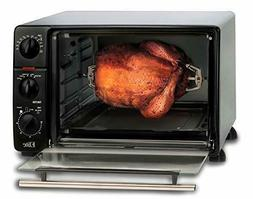 Toaster Oven Broiler with Drip Pan Warm Grill Broil Cooking