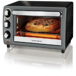 Hamilton Beach Black Toaster Oven In Charcoal Includes Oven