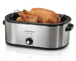 Hamilton Beach 28 lb Turkey Roaster Oven 22 Quart Capacity E